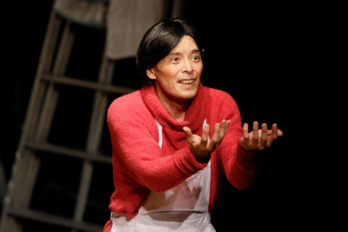 一人芝居「ポジティブキャンペーン」収録:下北沢OFFOFFシアター
